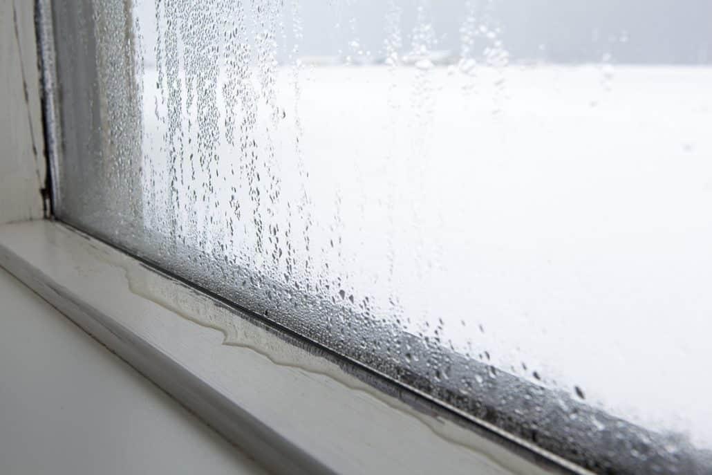 humedad por condensación en ventanas