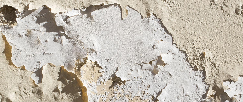 paredes desconchadas por humedad